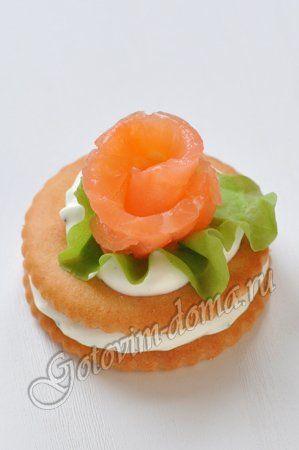 бутерброд с семгой на крекере - Поиск в Google
