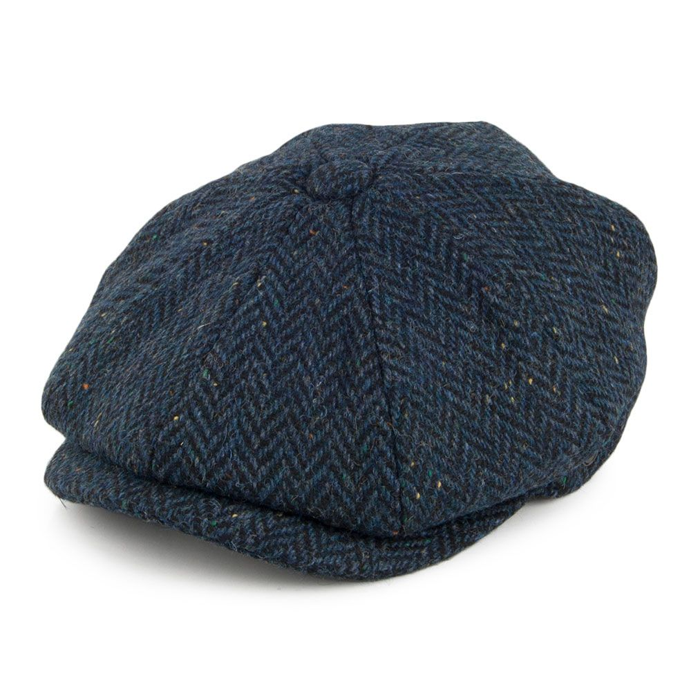 581de6d6afbdd Jaxon & James Brooklyn Newsboy Cap - Navy | hat collection ...