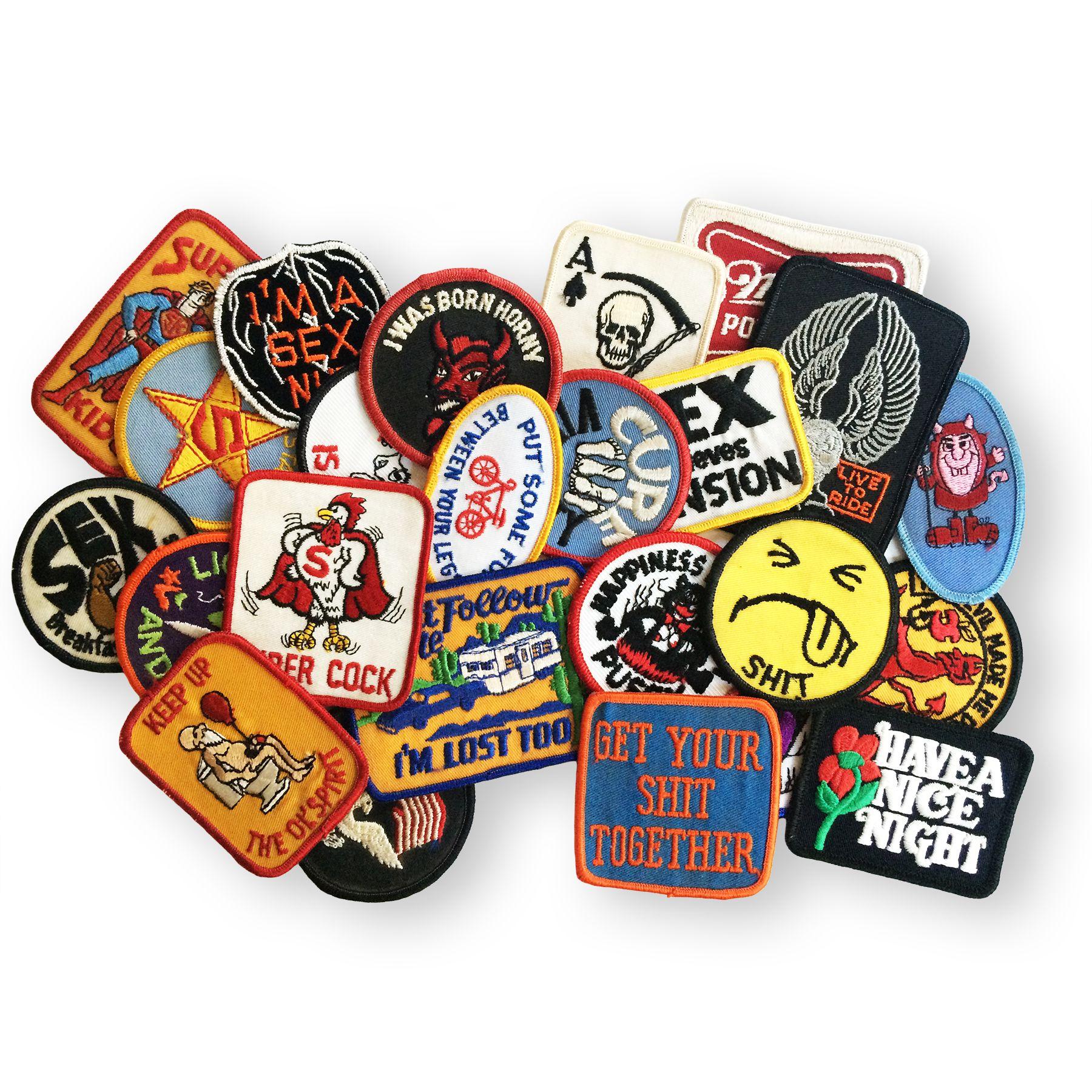 a7ac5709254 Mystery Vintage Patch Pack on Storenvy