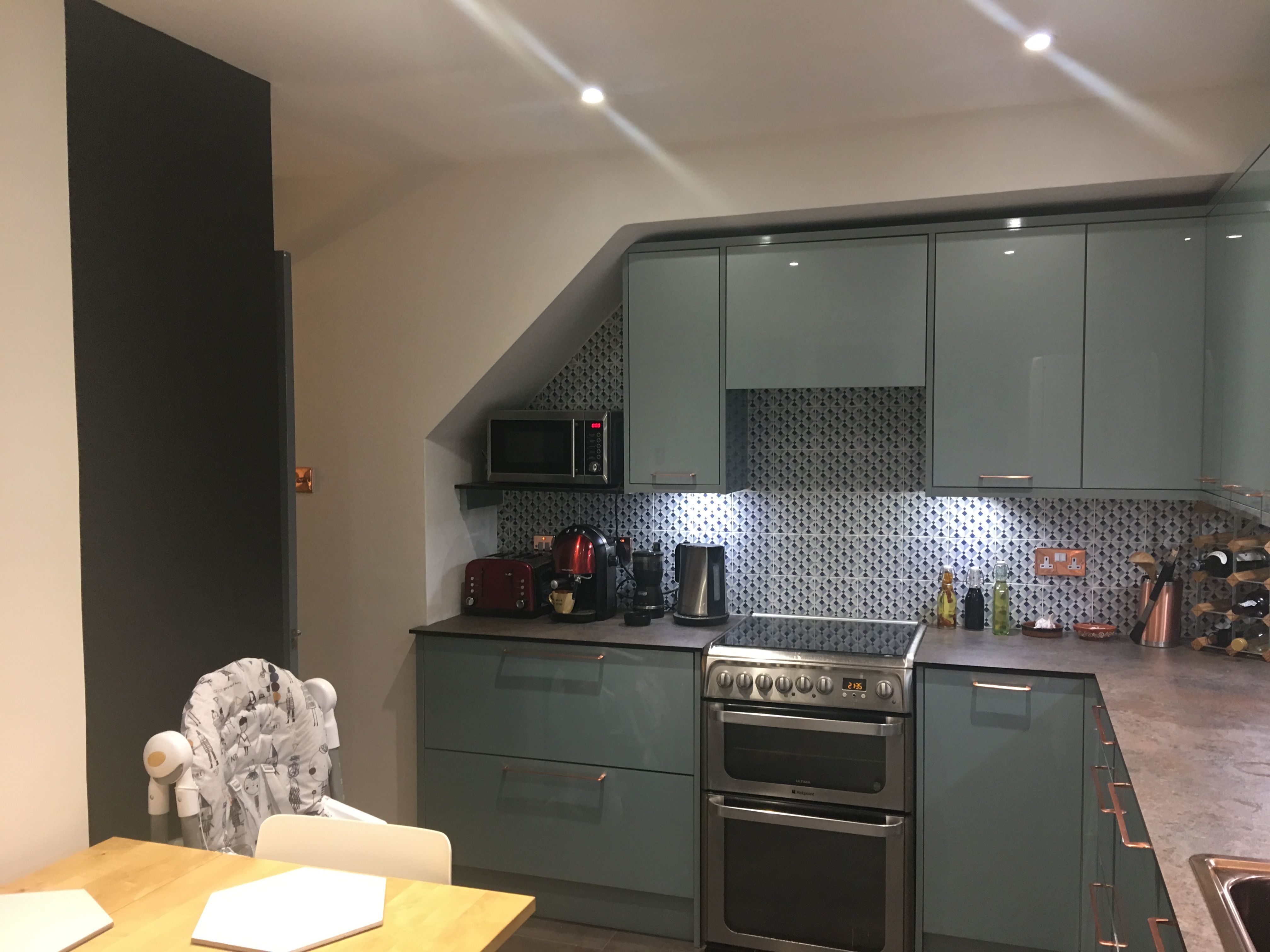 Wickes Esker Azure Blue (With images) Kitchen renovation