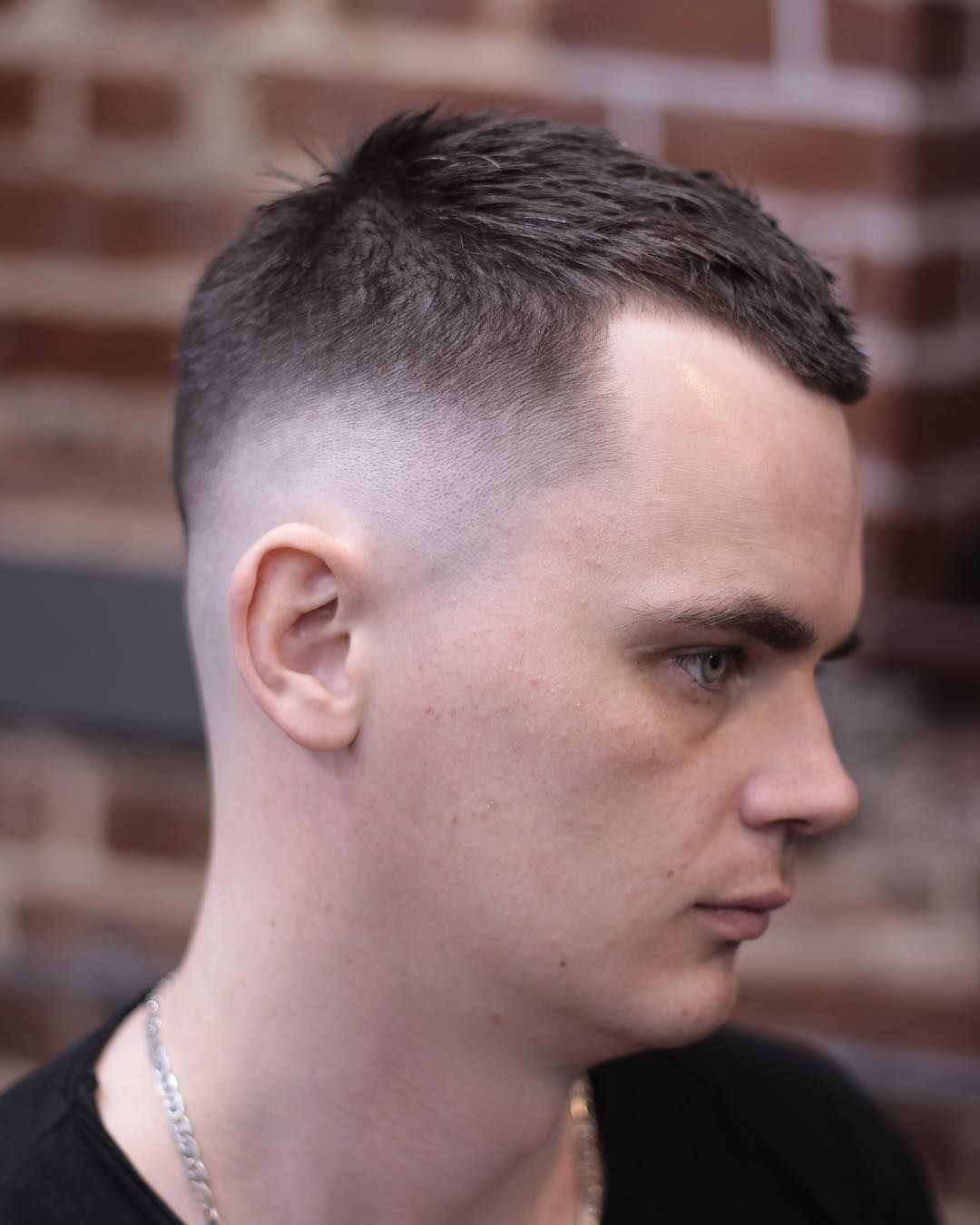 Fade for receding hairline