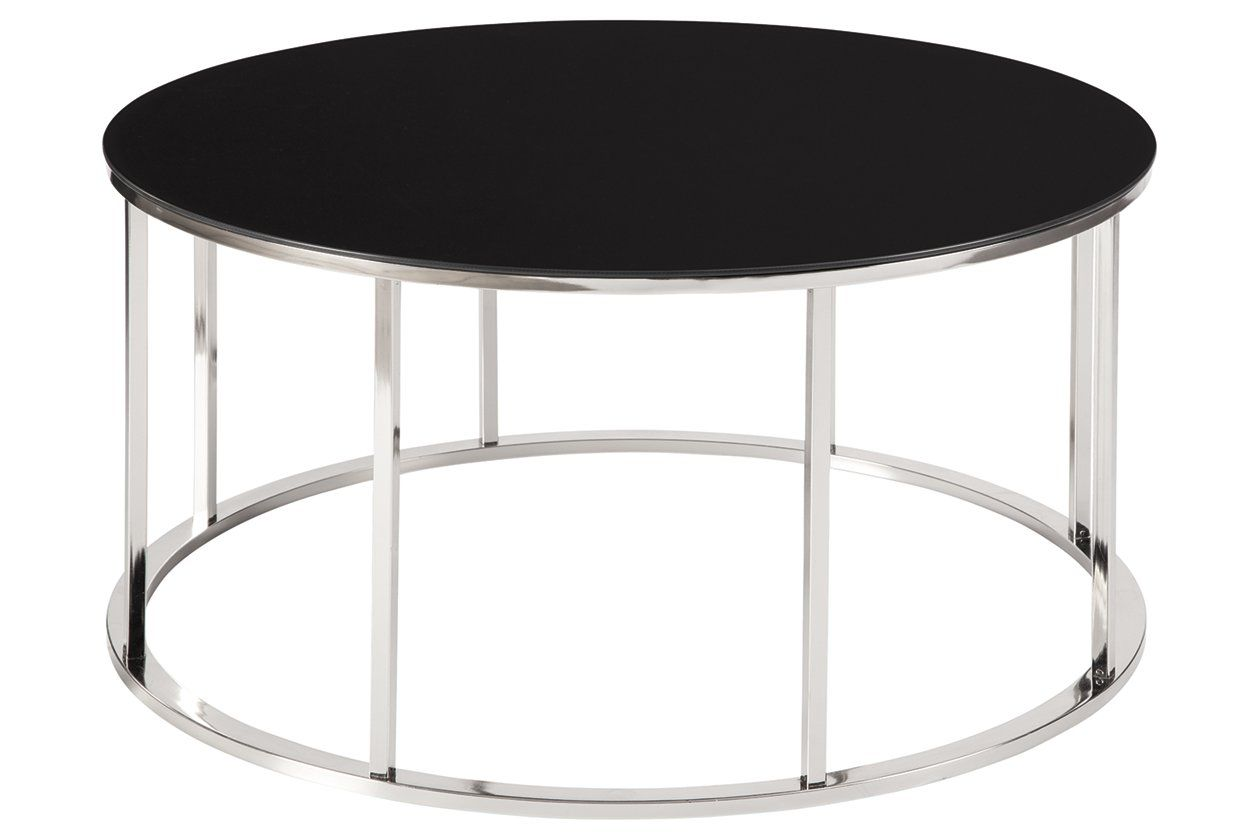 Ashley T141 13 Dempsey Metro Modern 3 Pc Table Set Features Chrome Color Legs And Clear Beveled Glas 3 Piece Coffee Table Set Coffee Table Coffee Table Setting [ 900 x 1200 Pixel ]