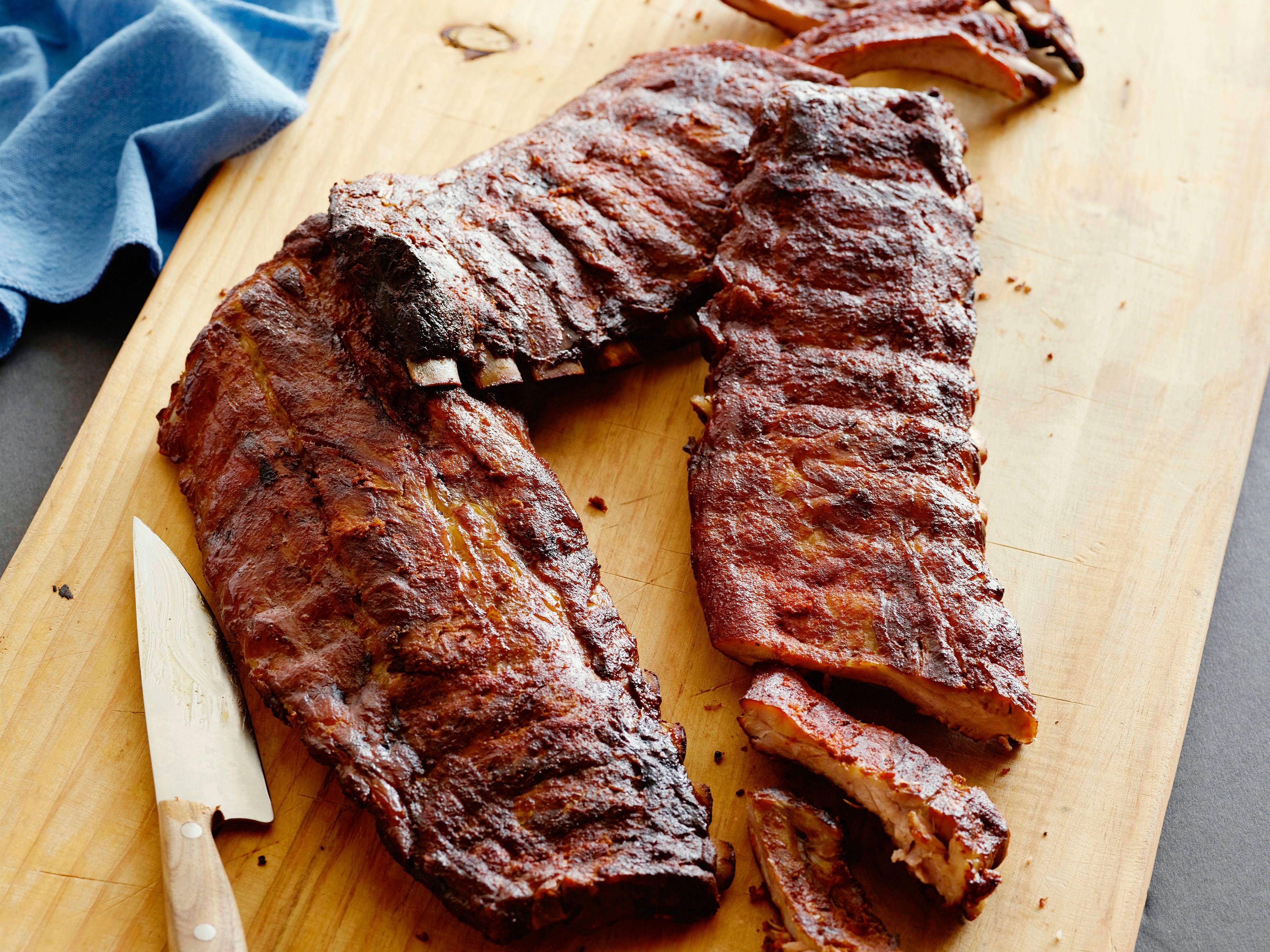 Barbecue St Louis Pork Ribs Recipe Rib Recipes Pork Ribs Bbq Recipes Ribs