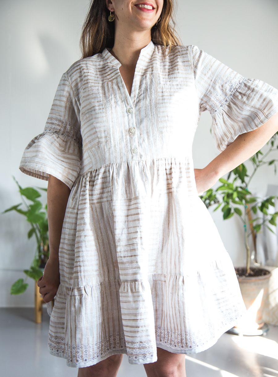 Double gauzey: A Nani Iro Myosotis Dress   HANDMADE   Pinterest ...