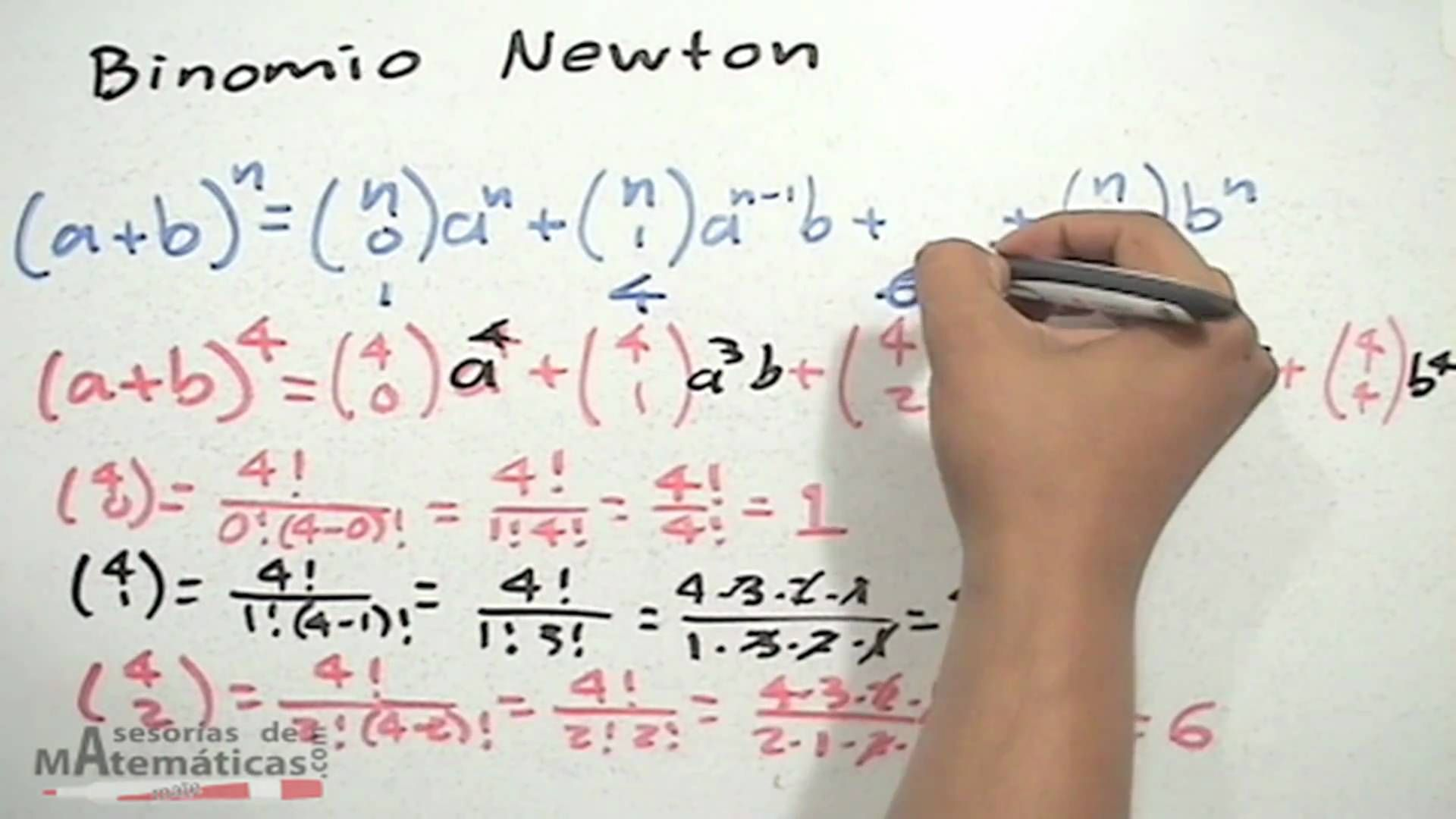 Triangulo De Pascal Y Binomio De Newton Hd Triangulo De Pascal