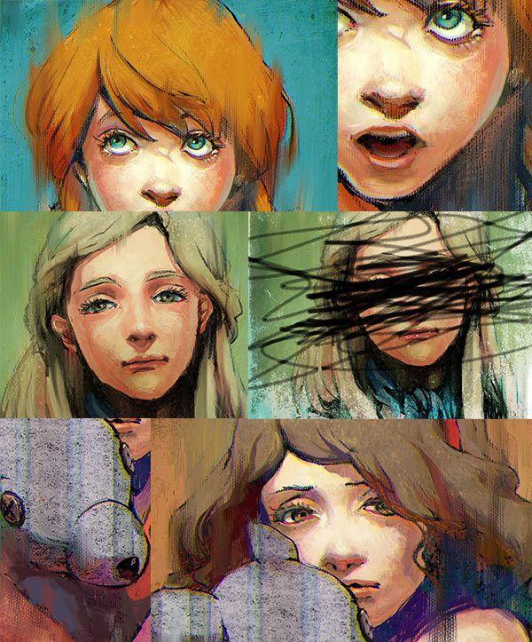 Dodgson vol.1 - Zine of Little Girl Art (2011) by Yuko Rabbit, via Behance