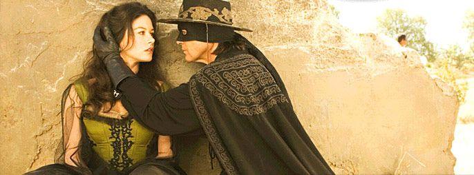 Image result for the mask of zorro catherine zeta jones and antonio banderas