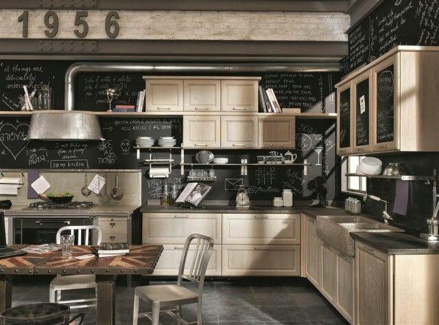 Shabby Chic Küche mit Liebe zum Detail gestalten 40 Ideen   - küche shabby chic