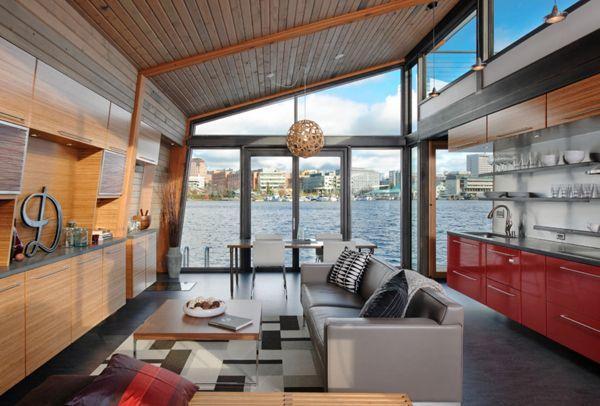 Industrial Modern Design Houseboat Html on