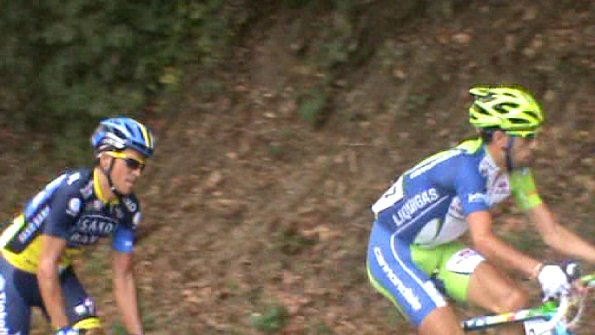 ... @albertocontador e @vincenzonibali