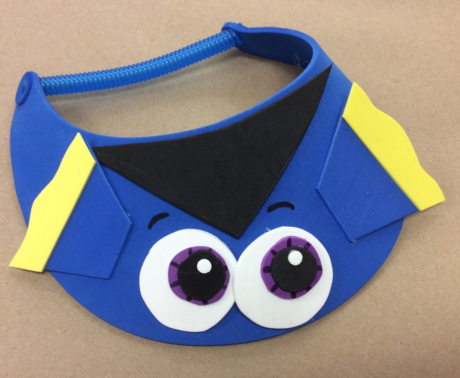 Dory foam visor I made as a sample for AC Moore. | A.C.Moore ...
