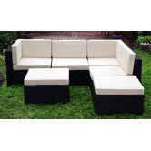 Found it at AllModern - Montecarlo Sectional Sofa with Cushions