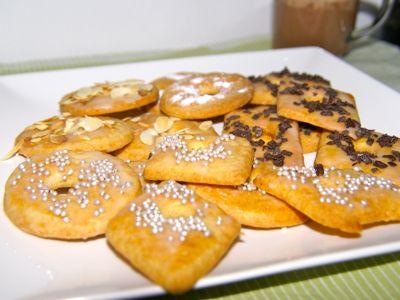 koekjes versieren voor of na het bakken