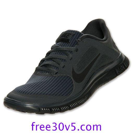 all black nike work shoes