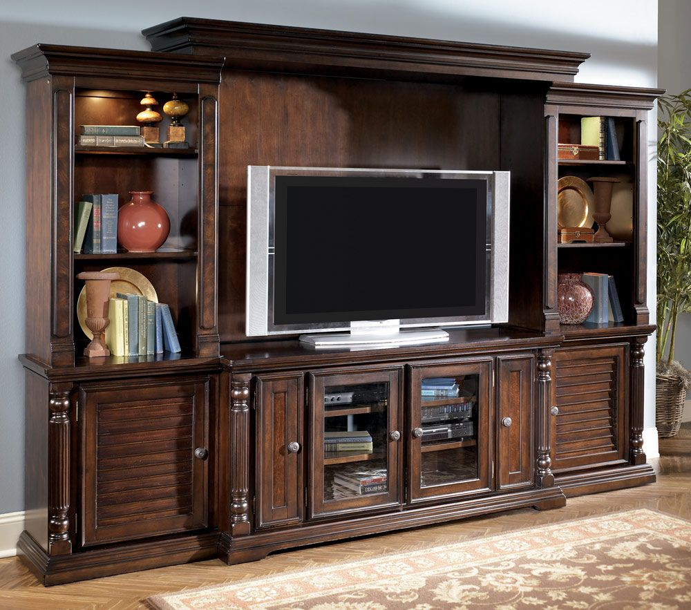 Ashley Entertainment Centers Wall Unit | Previous in ...