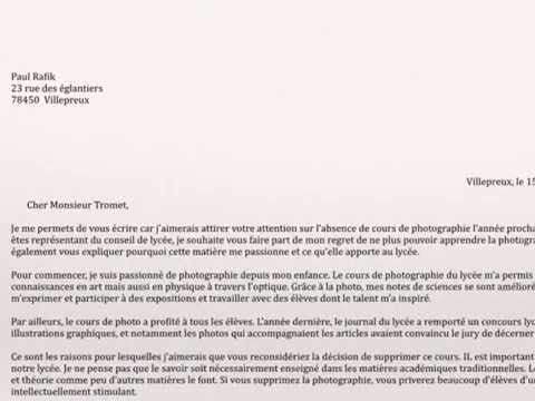 Writing a formal letter persuasive writing french vce text types writing a formal letter persuasive writing french vce text types youtube spiritdancerdesigns Choice Image