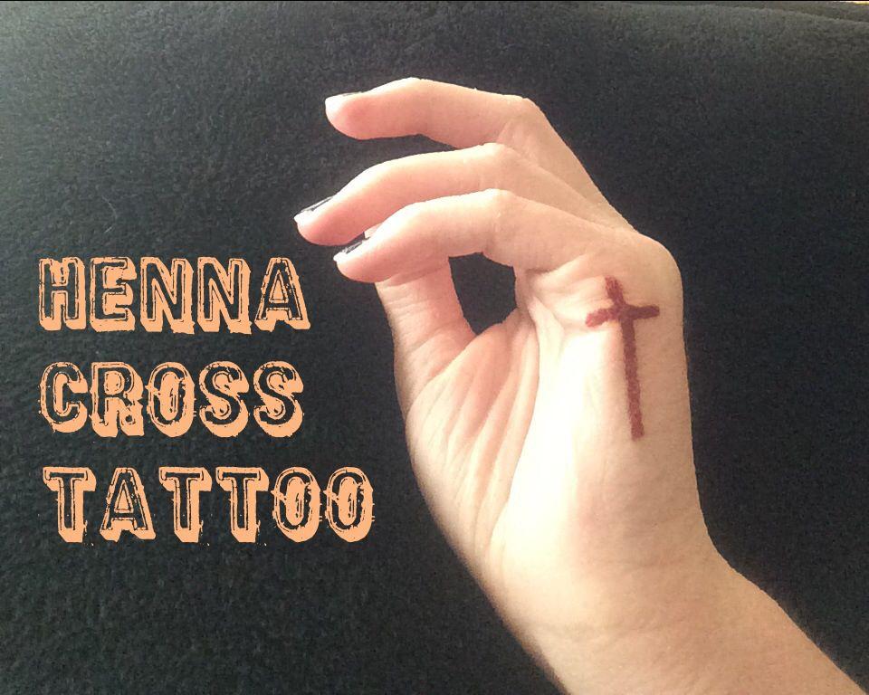 Henna Cross Tattoo: Tatoos And Piercings