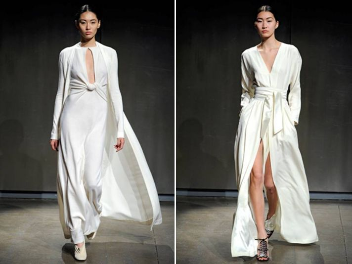 New York Fashion Week Dresses Perfect for Brides