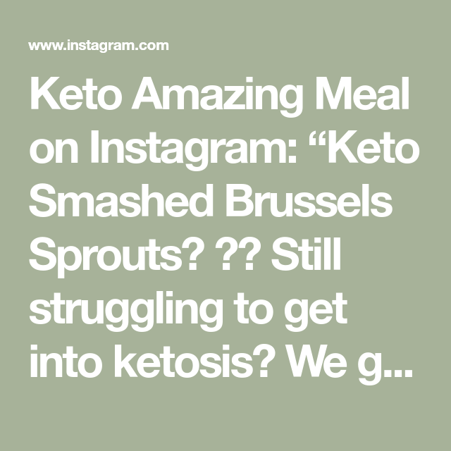 "Keto Amazing Meal on Instagram: ""Keto Smashed Brussels Sprouts Keto Amazing Meal on Instagram: ""Keto Smashed Brussels Sprouts #smashedbrusselsprouts"
