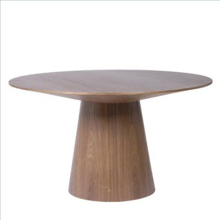 Eurostyle Wesley Round Pedestal Dining Table In