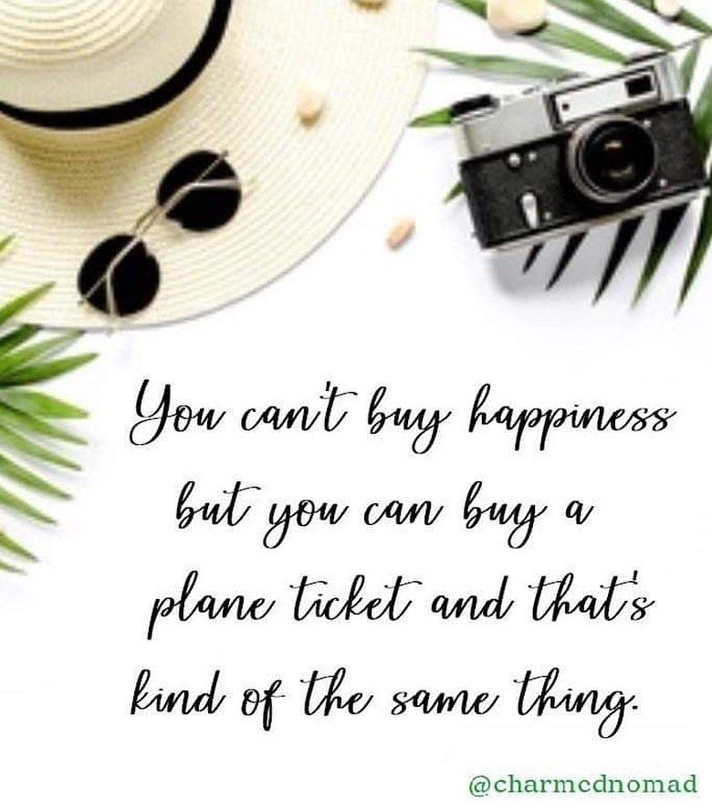 You Can't BUY Happiness but you can BUY a Plane a Ticket 🎫 and that's kinda the same thing!!! . .  WHERE TO - WAS THE LAST PLANE TICKET YOU BOUGHT? ✈️ . . . #travel #travelxp #travelquote #travellife #planeticket #cantbuyhappiness #funnytravelquotes #boardingpass #charmednomad #quotestoliveby #quotes #travelquotes #traveltips #traveltips101 #travelhacks #traveldiscounts #airplanetravel #airplanetravelexperience #airplanelovers #quotestoremember #travelquotestoliveby #quoteslover #travelquoteoft