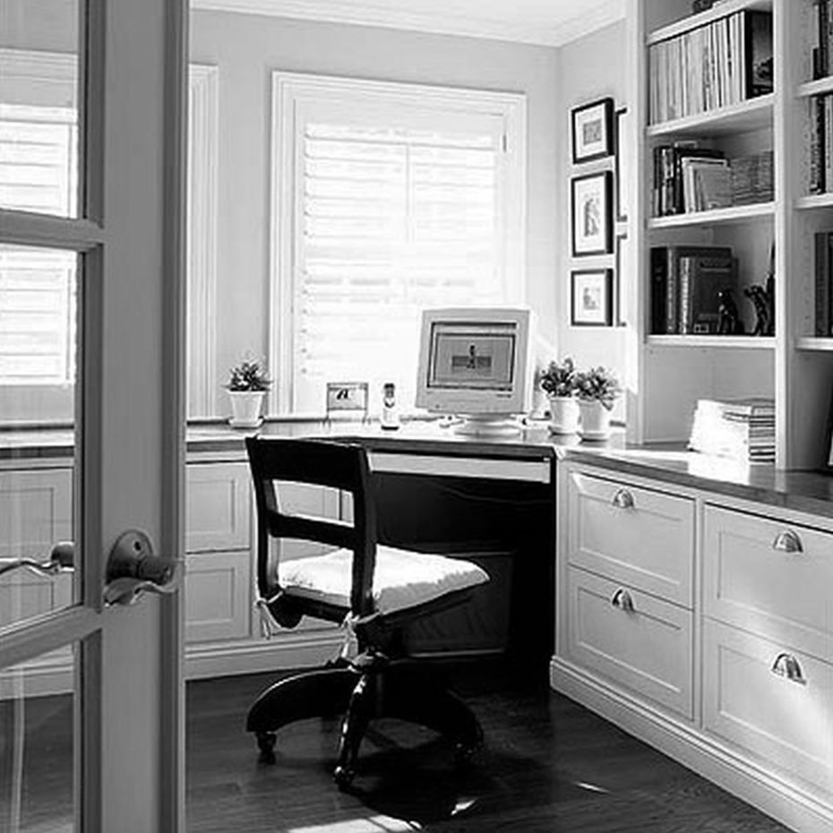 Ikea Office Cabinets Small Corner Modern Home Office Ikea