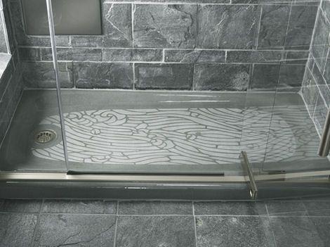 Kohler Salient Shower Receptor The Cast Iron Receptor With