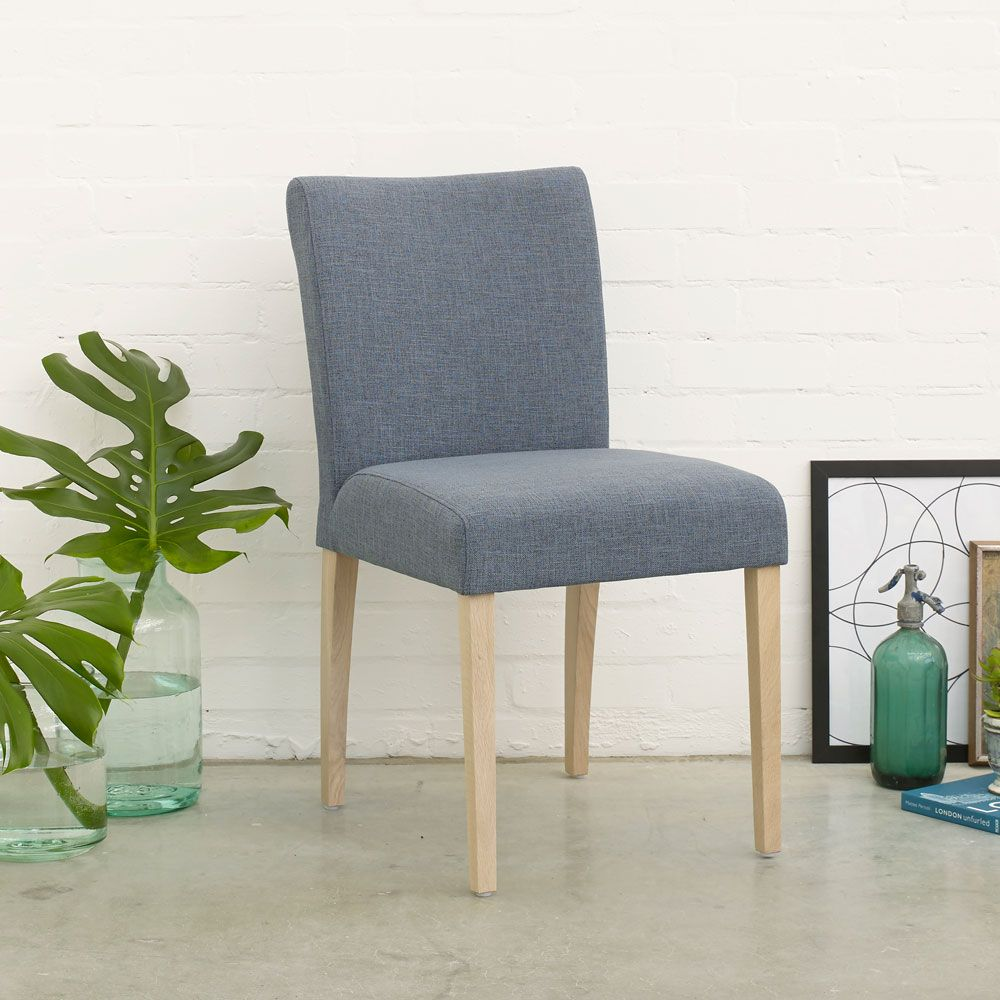 Room Model A Low Back Dining Chair With Oak Or Walnut Legs