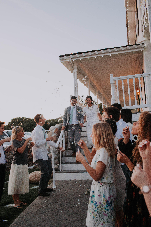 bubble wedding send off Wedding bubbles, Wedding send