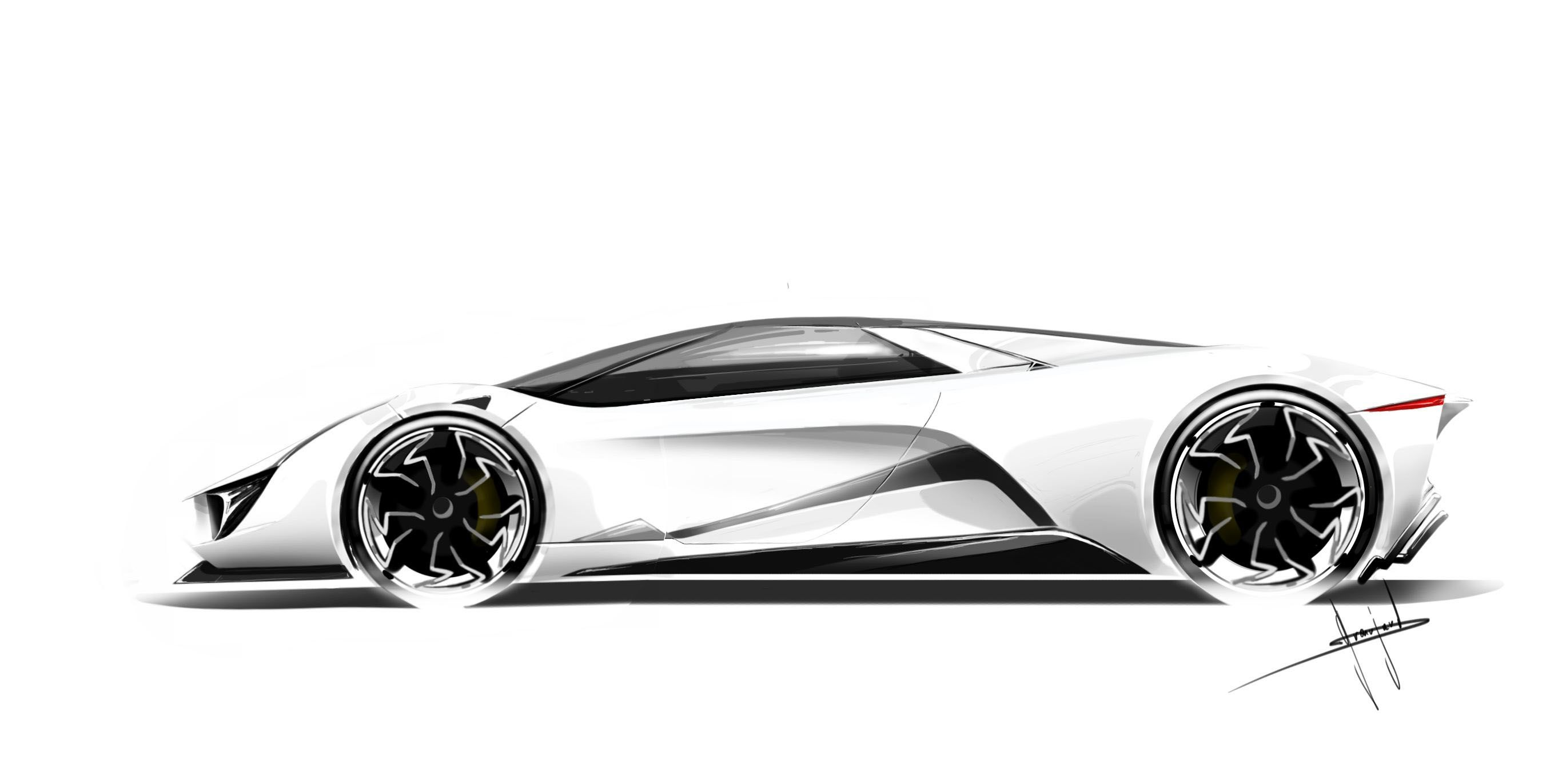 Lola Supercar Electric Engine Turbines Futuristic Cars Concept Car Design Concept Cars