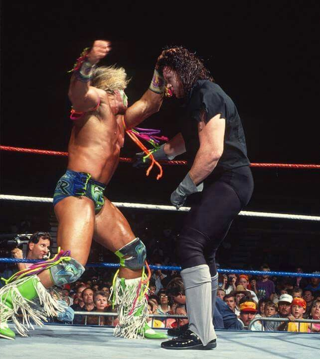 Undertaker vs Ultimate Warrior | Wrestling superstars ...