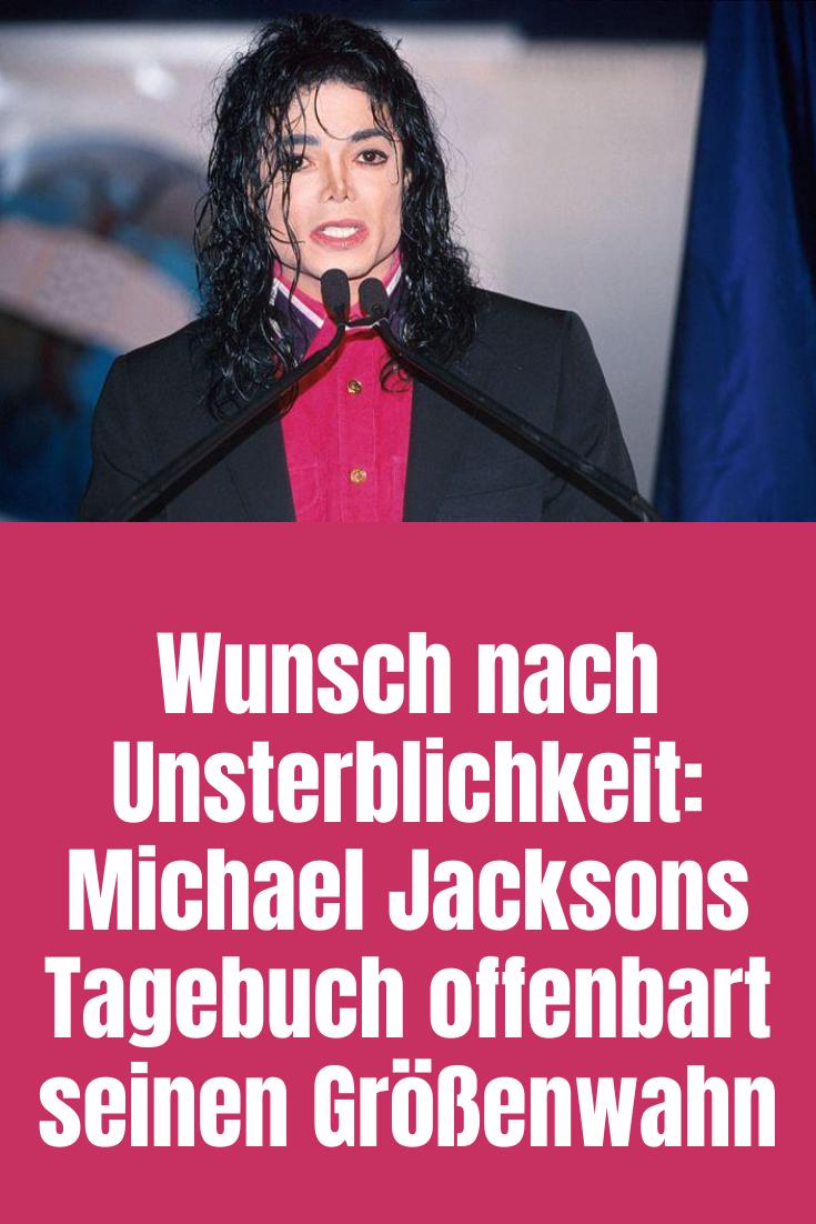 Wunsch Nach Unsterblichkeit Michael Jacksons Tagebuch Offenbart Seinen Grossenwahn Witze Zum Totlachen Michael Jackson Jackson