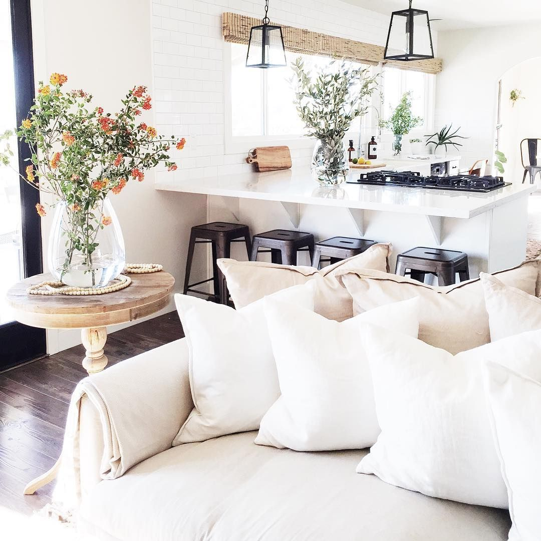 Pin by A Rosy Note on kitchens | Pinterest | Living rooms, Yards and ...