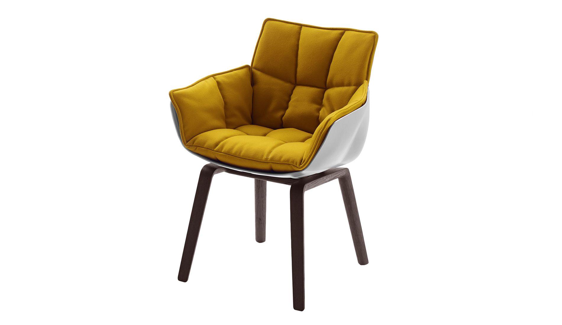 B B Italia Husk Chair With Wooden Base Small Armchair B B Italia Rocking Chair Makeover
