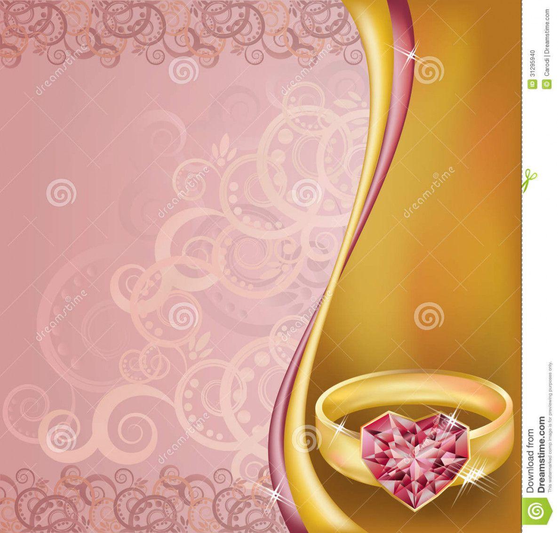 8 Ring Ceremony Invitation Invitation Card Design Card Design