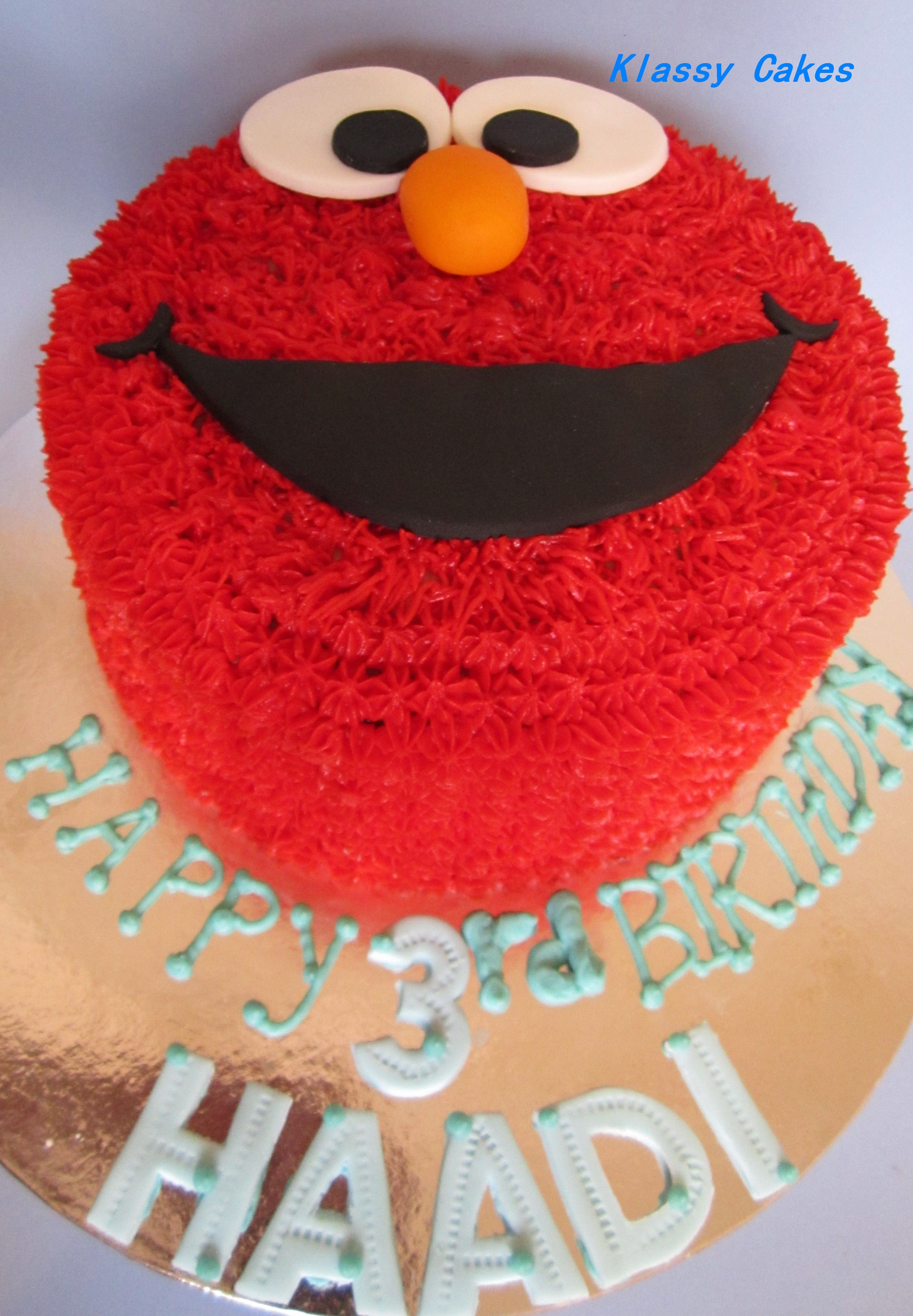Remarkable Elmo Cake For A Boy Who Has Never Watched Elmo Boys First Personalised Birthday Cards Veneteletsinfo