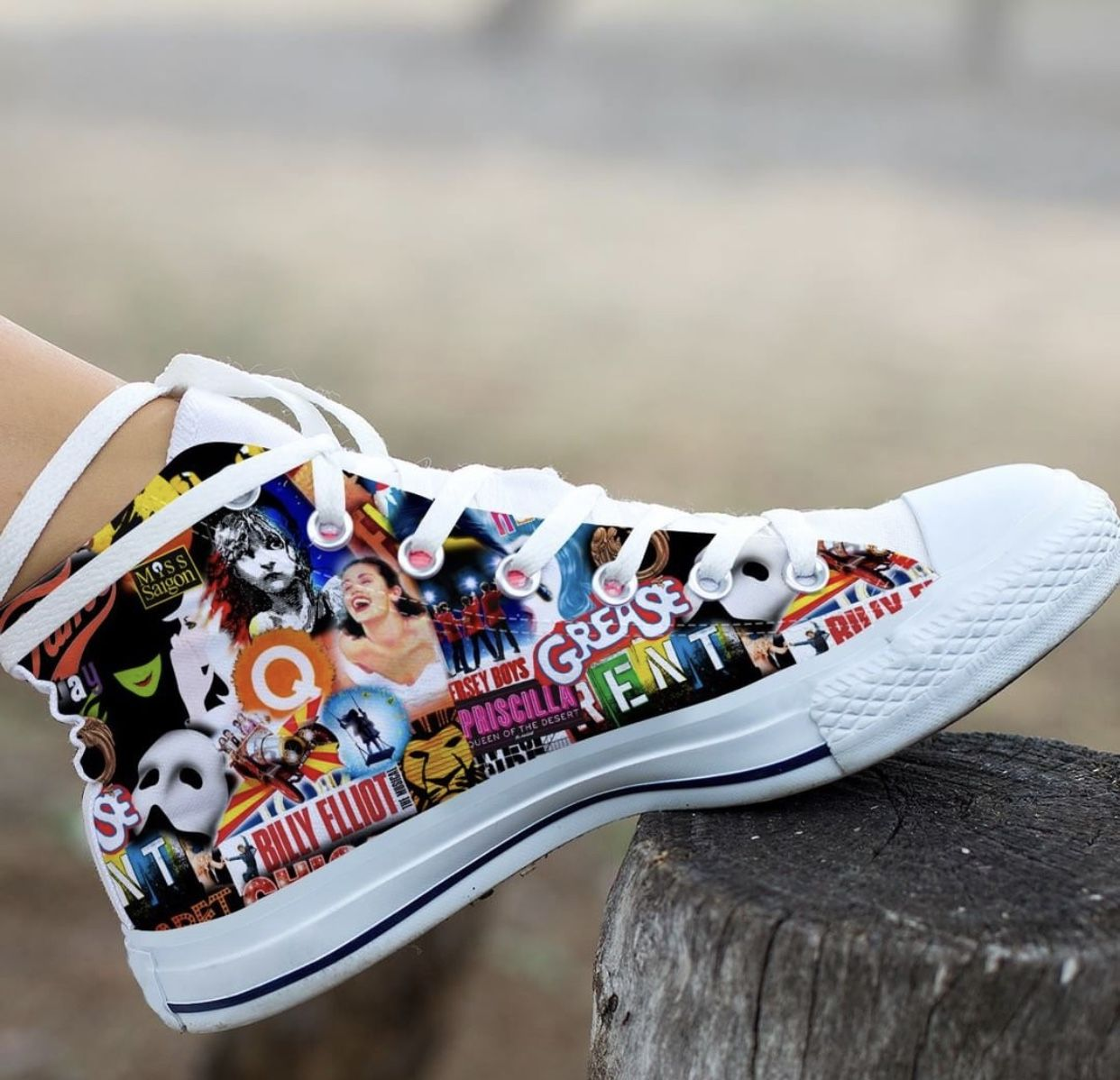 7d4fdde69575 Musicals - Broadway and West End Converse high top