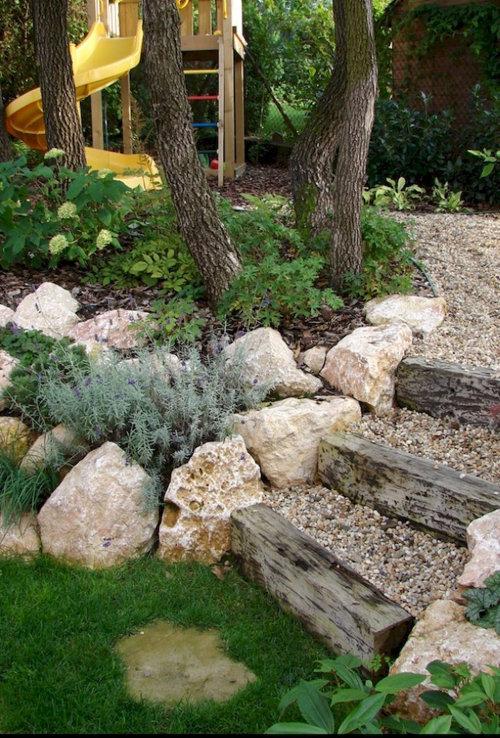 awesome front yard rock garden landscaping ideas