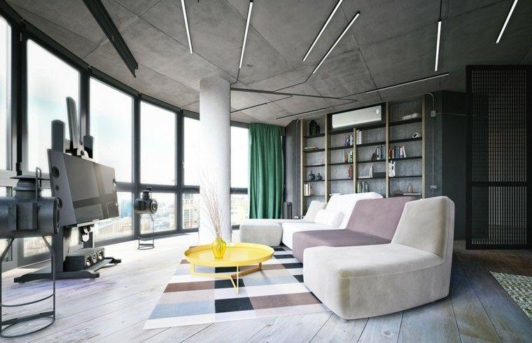 Interieurdecoratie u de grijze en gele combinatie de perfecte