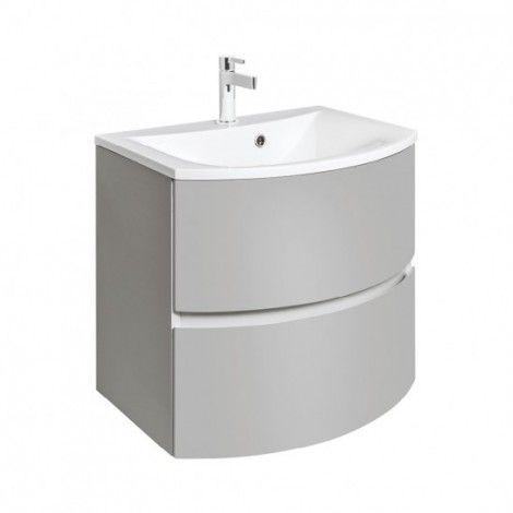 Bauhaus Svelte 60 Vanity Unit with Optional Cast Mineral