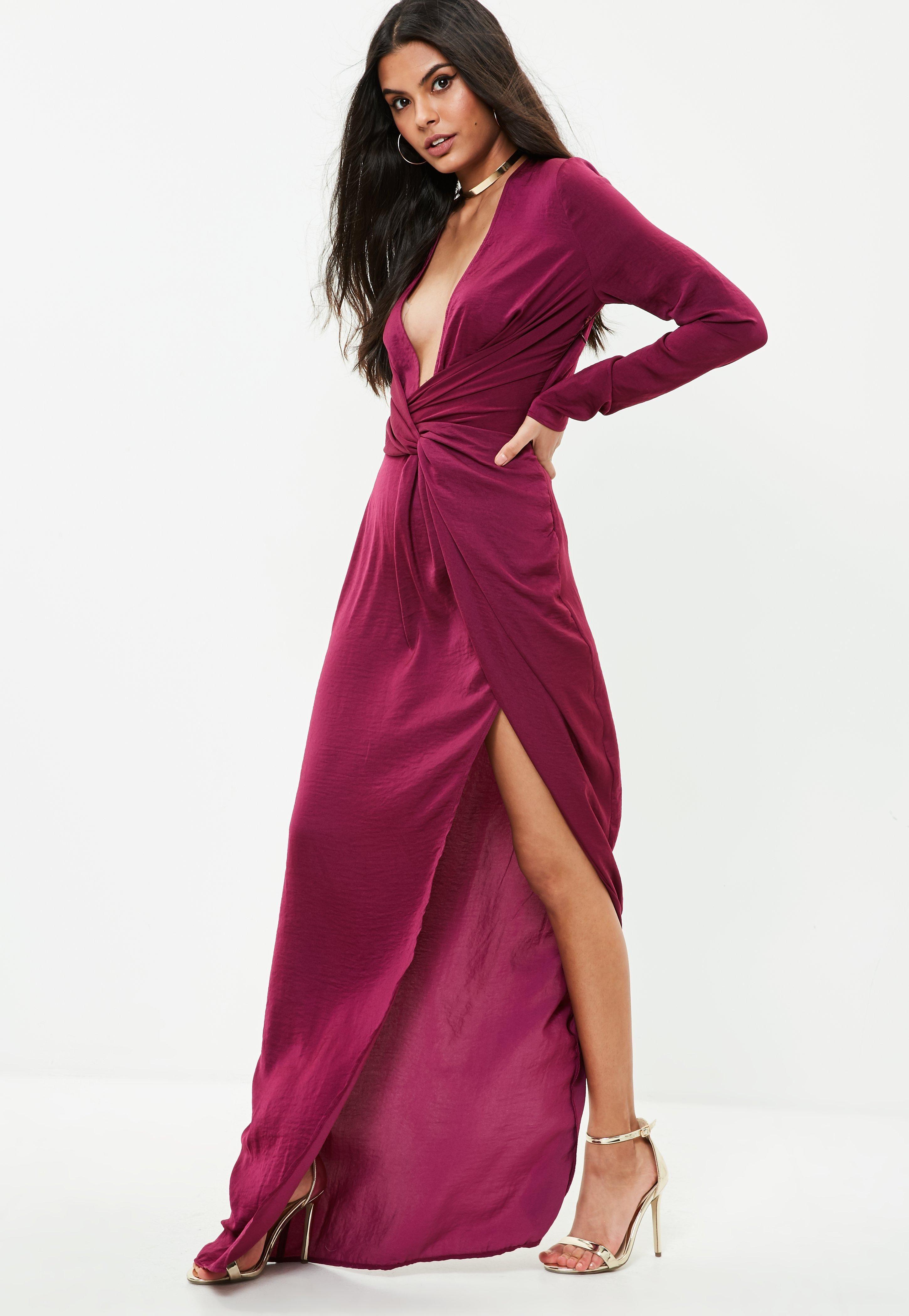 Missguided Tall Purple Wrap Maxi Dress Amanda Maxi Dress Dresses Maxi Wrap Dress [ 4200 x 2900 Pixel ]
