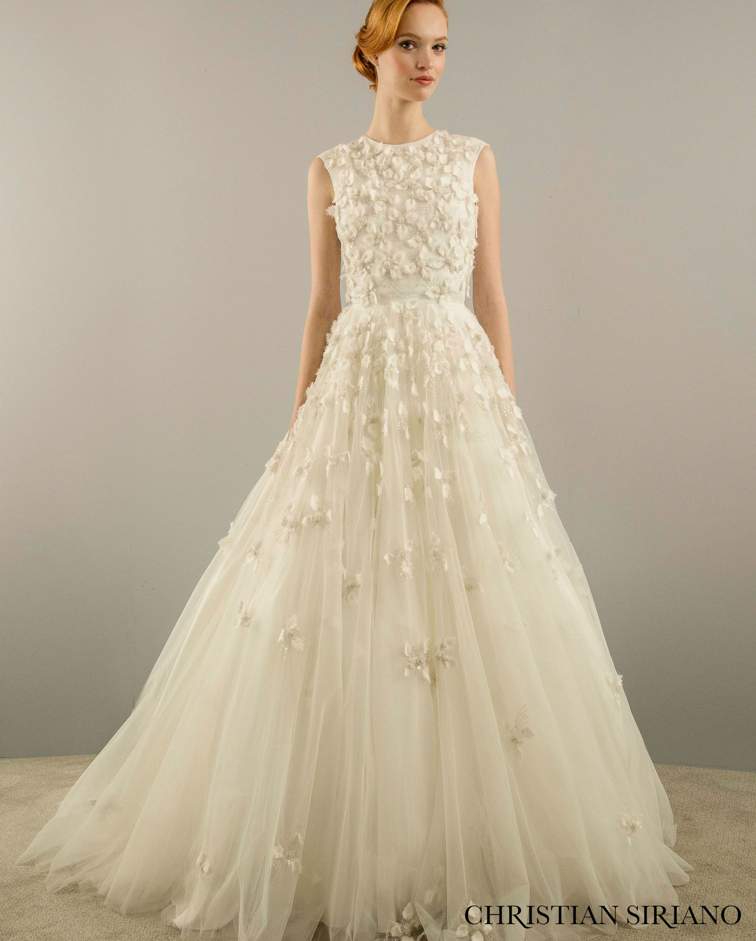 First look christian sirianos new bridal collection for christian siriano wedding dress at kleinfeld ombrellifo Image collections