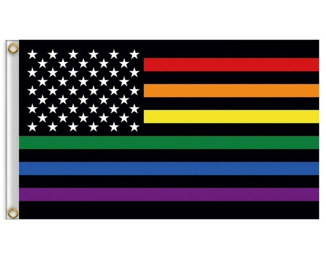Lgbtq Pride Flag Colors United States Flag Symbols Are United A New 3x5ft Flag Under 10 Us Pride Flag Colors United States Flag Pride Flags