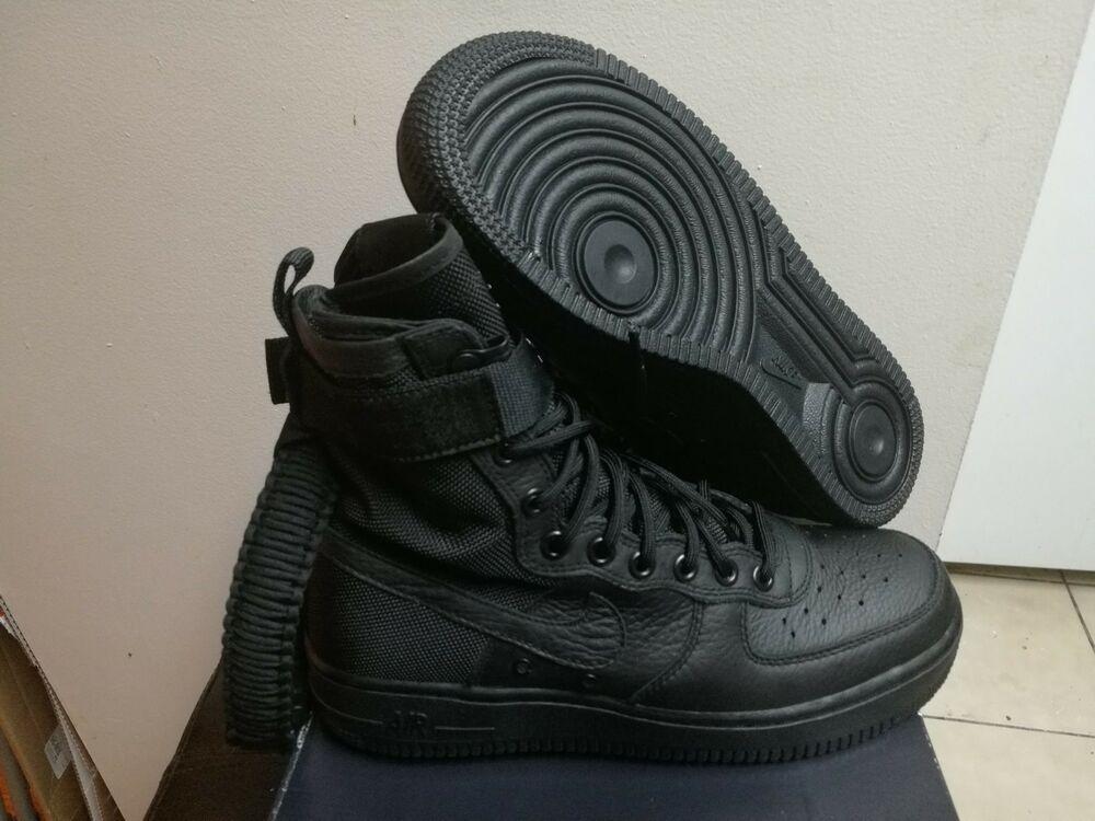 Women's Nike Special Field SF AF1 Air Force 1 Black/Black