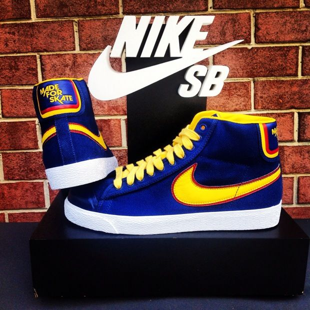 new arrivals 86447 83824 Ds size 8 nike sb made for skate blazers