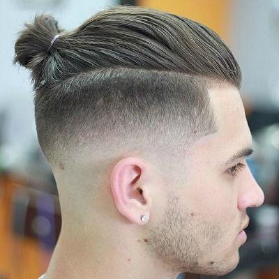 Image Result For Hair Tie Styles For Men Cabelo Masculino Cabelo Longo Masculino Penteados Masculinos