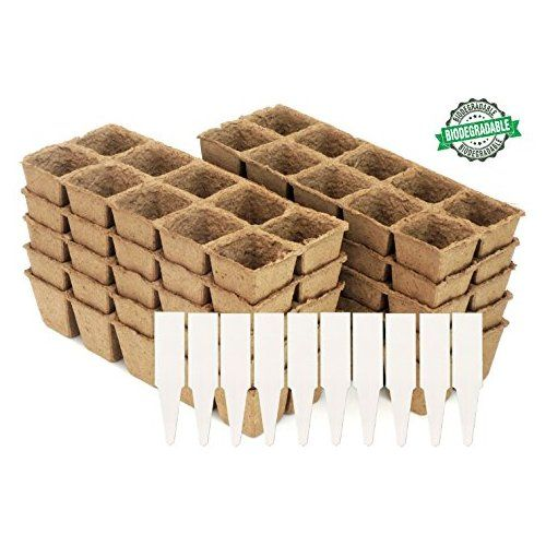 Diy Biodegradable Pots: Peat Pot Seedling Starter Trays