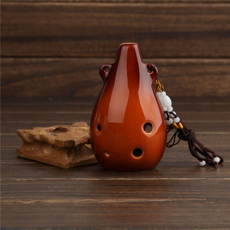 (Buy here: http://appdeal.ru/1gqz ) 6 Holes Ocarina  Alto F Key Professional Ocarina Flute Handmade Ceramic Flauta Classical Musical Instrument  6 Hole Ocarina for just US $29.47
