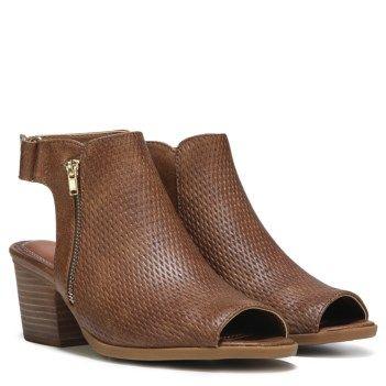 Ivey Peep Toe Bootie at Famous Footwear