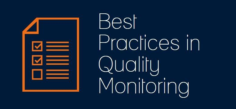 Webinar Best Practices in Quality Monitoring #Quality monitoring